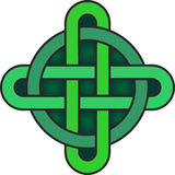 celtic knot symbol Royalty Free Stock Photography