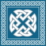 Celtic knot,symbol represents four world elements,vector Royalty Free Stock Image