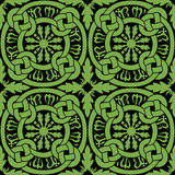 Celtic Knot Tile Pattern Royalty Free Stock Photo