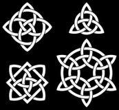 Celtic knotet Sammlung Lizenzfreies Stockbild