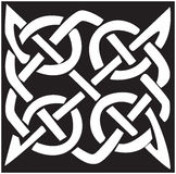 Celtic knots. A black and white design of Celtic knots Stock Images
