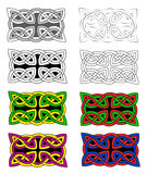 Celtic knots Stock Image