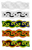 Celtic knots Royalty Free Stock Images