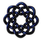 Celtic knots. Design on white background - 3d illustration Royalty Free Stock Photo