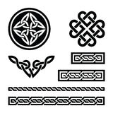 Celtic knots, braids and patterns -  Royalty Free Stock Photography