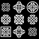 Celtic knots collection Stock Photo