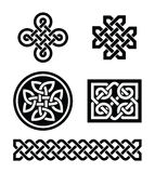 Celtic knots patterns -  Royalty Free Stock Photo