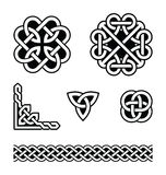 Celtic knots patterns -  Royalty Free Stock Photography