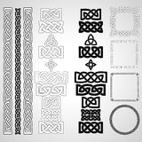 Celtic knots, patterns, frameworks Royalty Free Stock Images