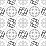 Celtic Knots Seamless wallpaper pattern Stock Photos