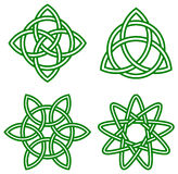 Celtic knots. Vector illustration of celtic knots Royalty Free Stock Images
