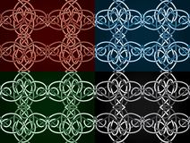 Celtic knotted seamless Royalty Free Stock Photography