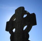 celtic kors royaltyfri bild