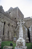 celtic kyrkogård Arkivfoto
