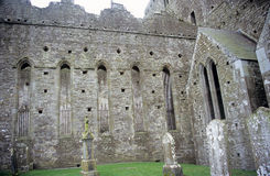 celtic kyrkogård Arkivfoton