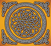Celtic love ornament (gordian knot) Stock Photography