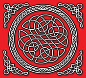 Celtic love ornament (gordian knot) Royalty Free Stock Photo