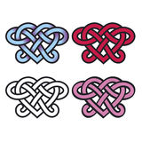 celtic lover knots Royalty Free Stock Photography