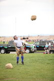 Celtic Man Sheath Toss Stock Photography