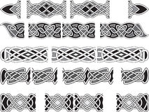 Celtic medieval ornaments Royalty Free Stock Image