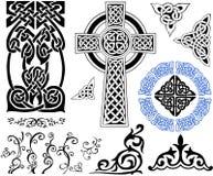 celtic modeller Arkivfoton