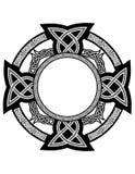 celtic modeller Arkivfoto