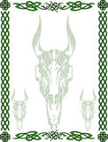 celtic modellsymboler Arkivfoto
