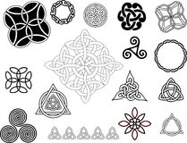 Celtic motifs Royalty Free Stock Photo