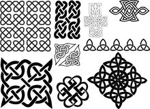 Celtic motifs Royalty Free Stock Image