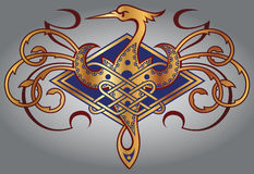 CELTIC MOTIFS Stock Image