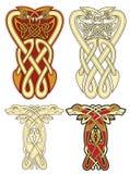 celtic motiv Arkivbild