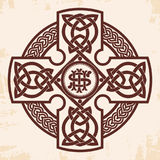 Celtic national cross. Royalty Free Stock Images