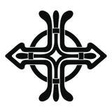 Celtic national cross. Royalty Free Stock Photo