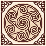 Celtic national drawing. Stock Photo