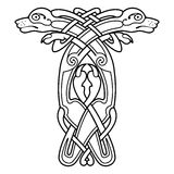 Celtic national drawing. Royalty Free Stock Image