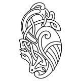 Celtic national drawing. Royalty Free Stock Photography