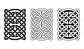 Celtic national ornaments. Royalty Free Stock Photography