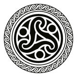 Celtic national ornaments. Royalty Free Stock Photo