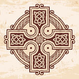 Celtic national ornaments. Royalty Free Stock Image