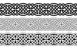 Celtic national ornaments. Royalty Free Stock Images
