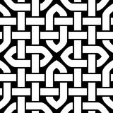 Celtic or Oriental knot seamless pattern, vector illustration Royalty Free Stock Photo