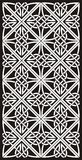 Celtic ornament. Black and white celtic ornamental knotwork Royalty Free Stock Photos