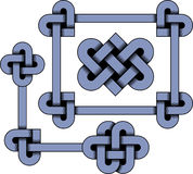Celtic ornament. Сeltic knots in vector format Royalty Free Stock Image