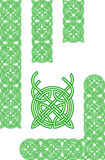 Celtic ornament elements Stock Image