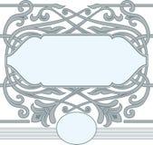 Celtic ornament frame style. Stock Photo