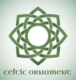 Celtic ornament with gradients Stock Photo