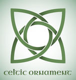 Celtic ornament with gradients stock illustration