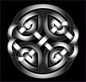 Celtic Ornament in the metal Royalty Free Stock Images