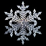 Celtic ornament - snowflake Royalty Free Stock Photography