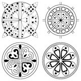 Celtic ornament. Vector set with Celtic patterns Stock Photography
